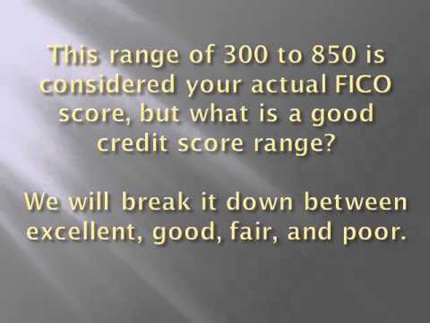 What Is Considered a Good Credit Score Range