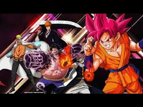 Goku-Naruto-Luffy-Ichigo-Natsu AMV
