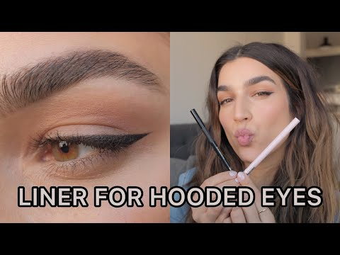 Winged Eyeliner For Hooded Eyes I 5 Easy Steps - YouTube