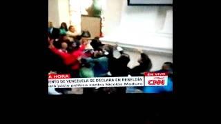 Asalto a la Asamblea Nacional por chavistas
