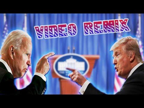 Donald Trump vs Joe Biden (Video Remix)