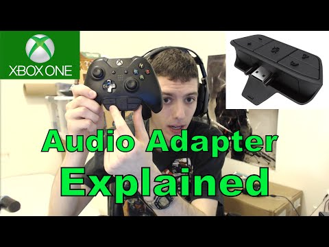 Stereo Headset Adapter EXPLAINED (Xbox One)