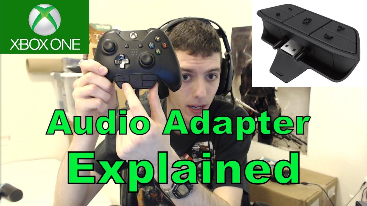 xbox one official headset adapter