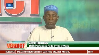 PDP, APC Face Off Over Postponement Of Election Pt.1 |The Verdict|