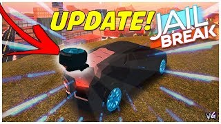 🔴ROBLOX JAILBREAK|  ROBUX GIVE AWAYS+ HOW TO GET THE NEW TIRE SPOILER! Roblox JAILBREAK SPOILER