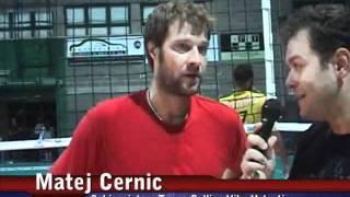 03-09-2011: Intervista a Matej Cernic post Amichevole NewMater-Vibo