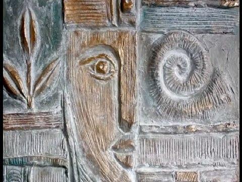 Pappmachè vom Feinsten. Anleitung: Das modellieren eines Reliefs