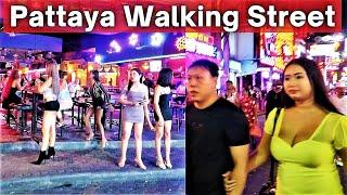 Pattaya Thailand Walking Street Nightlife is Must to Witness 🔥