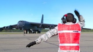 Three B-52H Stratofortresses Head North To Alaska | AiirSource