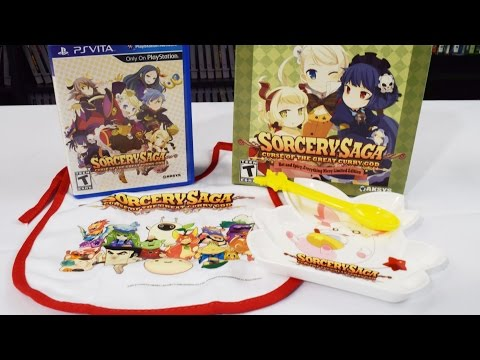 Sorcery Saga Curse Of The Great Curry God: Limited Edition - Unboxing [PSVITA]