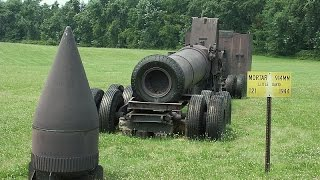WORLDS LARGEST & POWERFUL Artillery Mortar US Military historic footage
