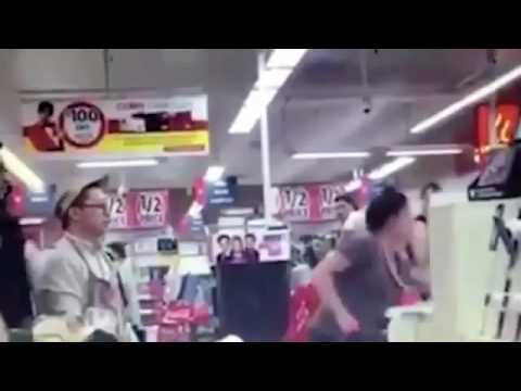 Woman caught racially abusing Coles staff Australia in Victoria Melbourne