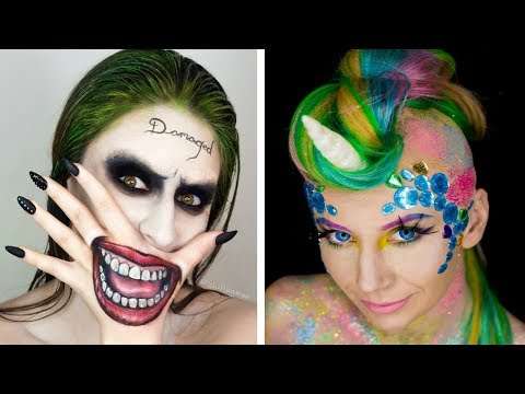 Thumbnail: Halloween Makeup Tutorial Horror Compilation By Cake, DIY, Makeup, Hairstyles, Nail Art - Topic