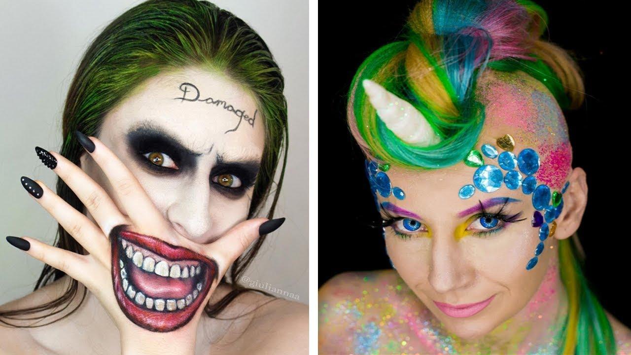 Halloween Makeup Tutorial Horror Compilation By Cake, DIY, Makeup ...