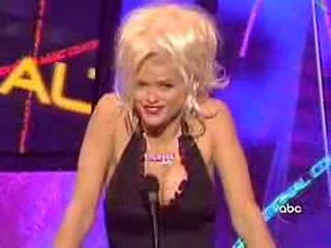 Anna Nicole Smith  stoned out of her mind