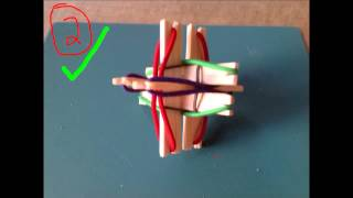 Balsa Wood Tensegrity Model