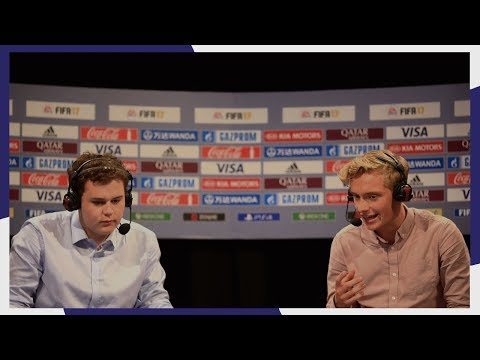 "Brandon Smith & Richard Buckley: ""Going to Qatar was unbelievable"" - FIWC London 2017"