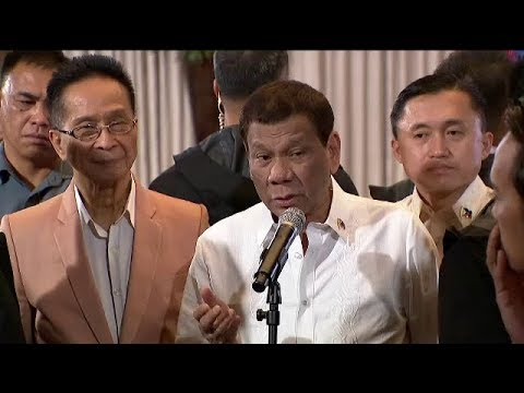 Palace to critics on enforcing arbitral ruling: Run for president