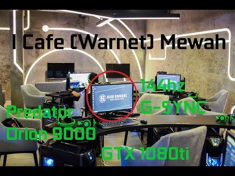 I Cafe (warnet) termewah & tercanggih di Indonesia - HIGH GROUNDS INDONESIA, PIK