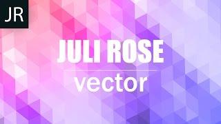 Создание мозаики в Adobe Illustrator | Abstract mosaic | JULI ROSE