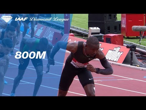 Emmanuel Korir 1.42.05 Wins Men's 800m - IAAF Diamond League London 2018