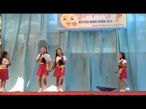 Nhớ ơn thầy cô- Tiểu học Đông Thạnh A, nhóm Lovely girls