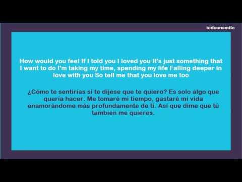 Ed Sheeran How Would You Feel (Paean) (Sub español - ingles)