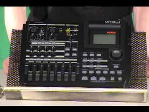 Fostex MR-8 MK2 Black Multi-Track Digital Recorder