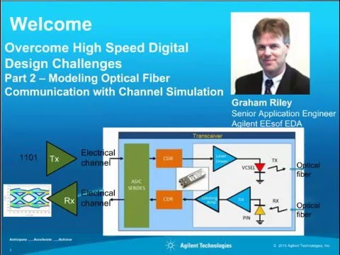 Modeling Optical Fiber Communication with Channel Simulation