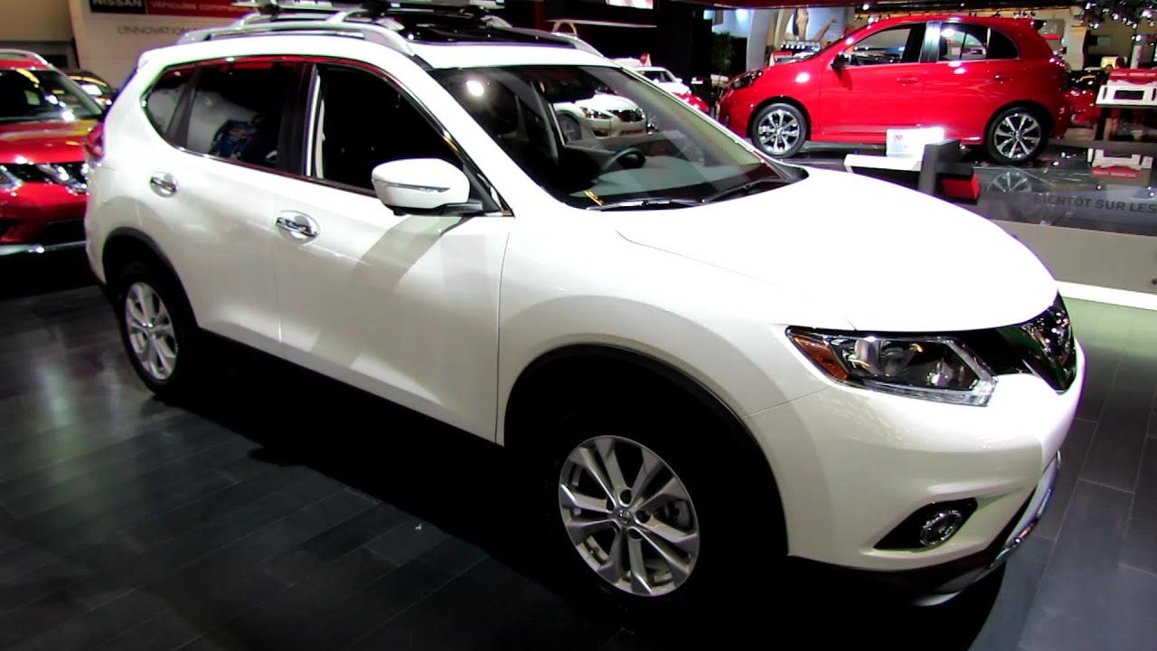 2014 nissan rogue sv awd exterior and interior walkaround 2014 montreal auto show youtube. Black Bedroom Furniture Sets. Home Design Ideas