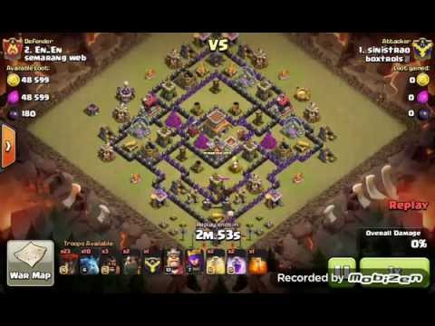 Base Coc Th 8 Anti Bintang 8