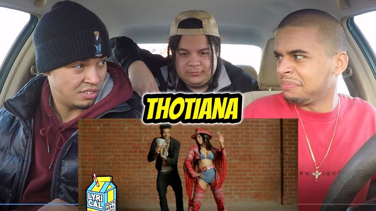Download Blueface - Thotiana Remix ft. Cardi B (Dir. by @_ColeBennett_) REACTION REVIEW