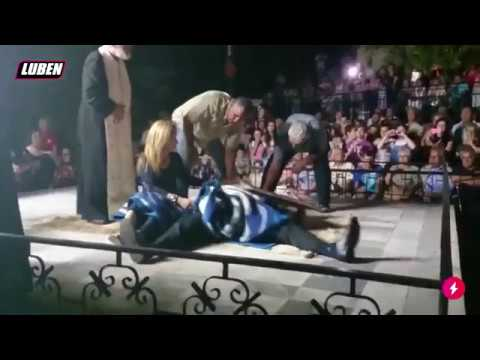 Η εικόνα που χτυπιέται μόνη της στους Νικήτες Καβάλας | Luben TV