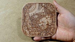 Woodburning Art - Pyrography 13/12/07