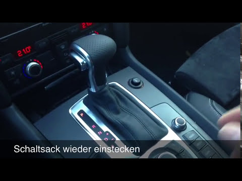 Audi Facelift Schaltknauf Tauschen Artikel 3843 Amp 3844