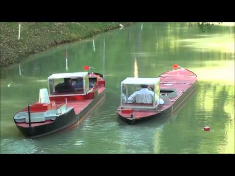 Successful overtaking of another ship in a canal - Port Revel Shiphandling