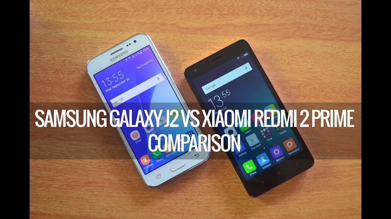 Samsung Galaxy j2 vs Redmi 2 prime