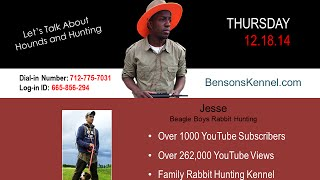 Hound Talk - Jesse Of Beagle Boys Rabbit Hunting (benson's Kennel)