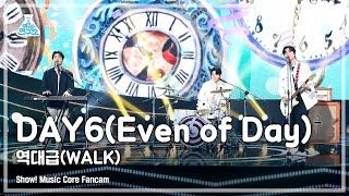 [예능연구소 4K] 데이식스 직캠 '역대급 (WALK)' (DAY6(Even of Day) FanCam) @Show!MusicCore 210717