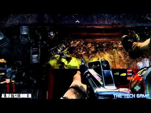 HUGE!!! Black Ops Zombie Glitch - Kino Der Toten (Untouchable) (HD)