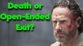 The Walking Dead Filmed Two Different Exits For Rick Grimes Explained! How Will Rick Depart in S9?