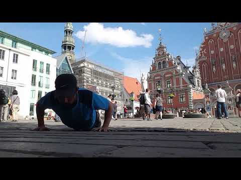 100 push up health project Riga