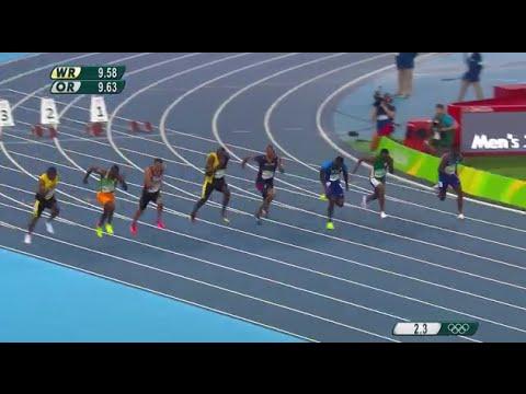 Usain Bolt wins third Olympic gold in 100m Dash   Rio ...