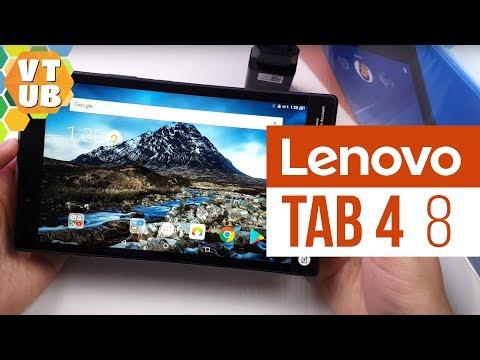 Lenovo Tab4 8 Распаковка | Комплектация | Первое впечатление