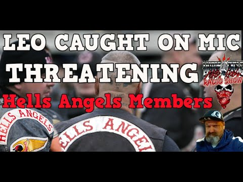 Biker Rights Alert - LEO Caught on Hot Mic Threatening members of Hells Angels during traffic stop from YouTube · Duration:  23 minutes 2 seconds