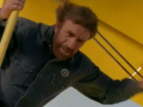 Walker Texas Ranger - Sassy Aerial Walker Insertion