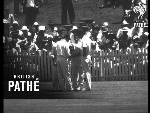 Brisbane - First Test Report AKA Australia Wins The First Test Match (1954)