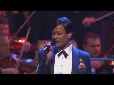 """MSgt Shani Prewitt performs """"Freedom"""""""