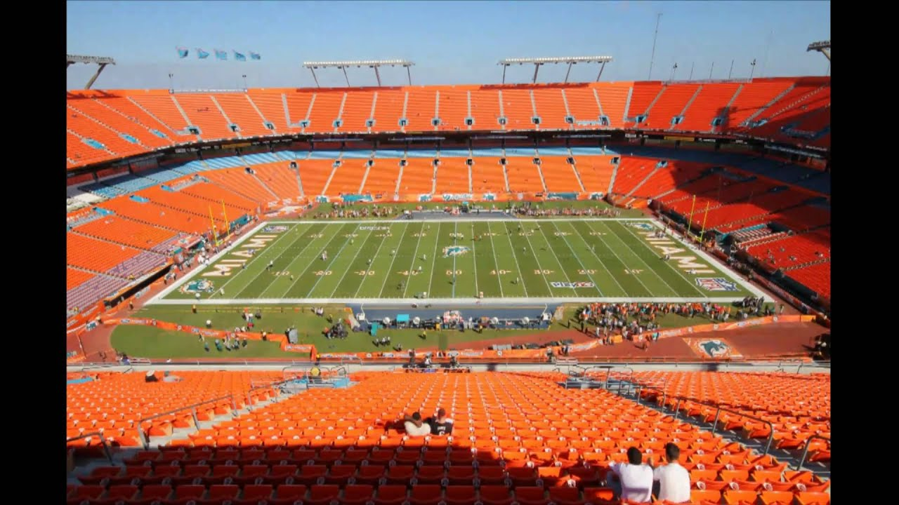 nfl time lapse sun life stadium miami fl youtube. Black Bedroom Furniture Sets. Home Design Ideas