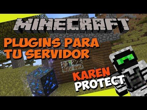Minecraft: Plugins Para Tu Servidor - KarenProtect (Piedras De Protección)